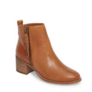 Nordstrom Block Heel Bootie size: 8